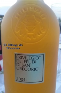 Privilegio Feudi San Gregorio