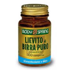 Body Spring Integratore Alimentare Lievito di Birra Purojpg