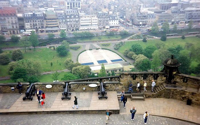 Il castello di Edimburgo6