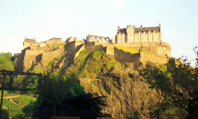 Il castello di Edimburgo8