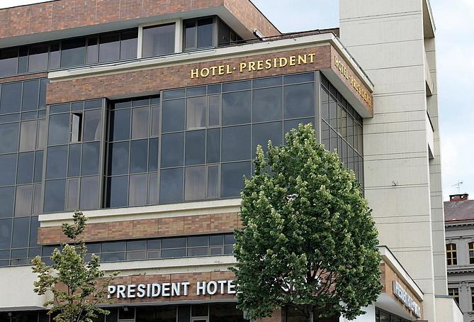 President Hotel, Praga7