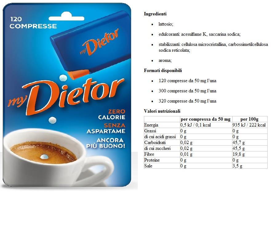 Dietor Blu Compresse