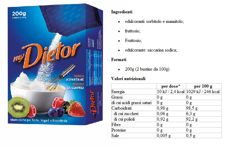 Dietor Blu Liquido