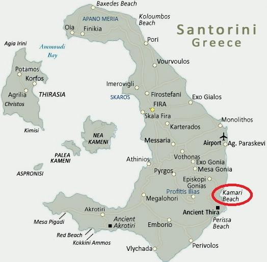 santorini-mappa