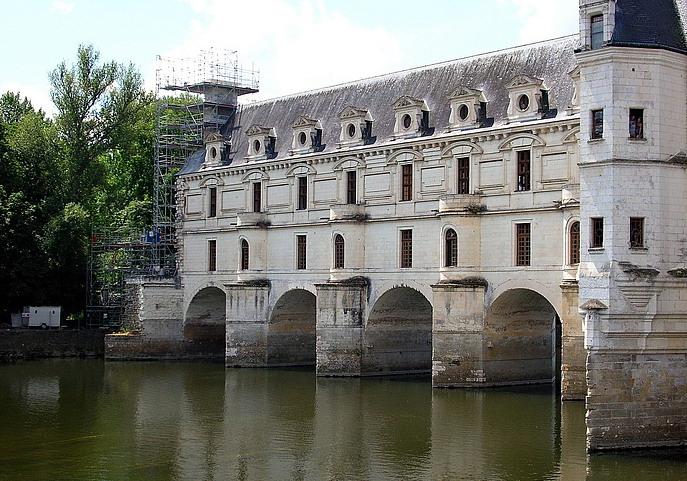 Il castello di Chenonceau (7)