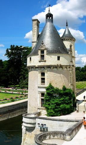Il castello di Chenonceau (9)