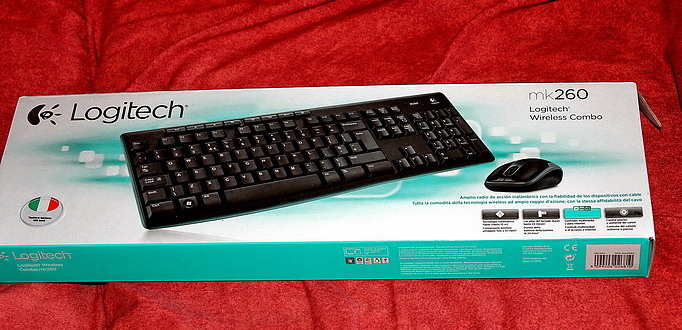 Logitech Wireless Combo MK260 (1)