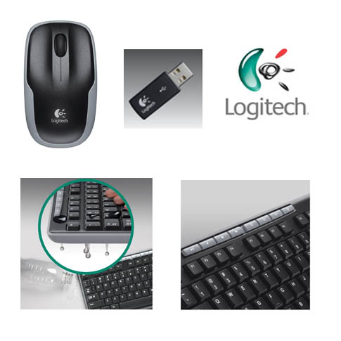 Logitech Wireless Combo MK260.