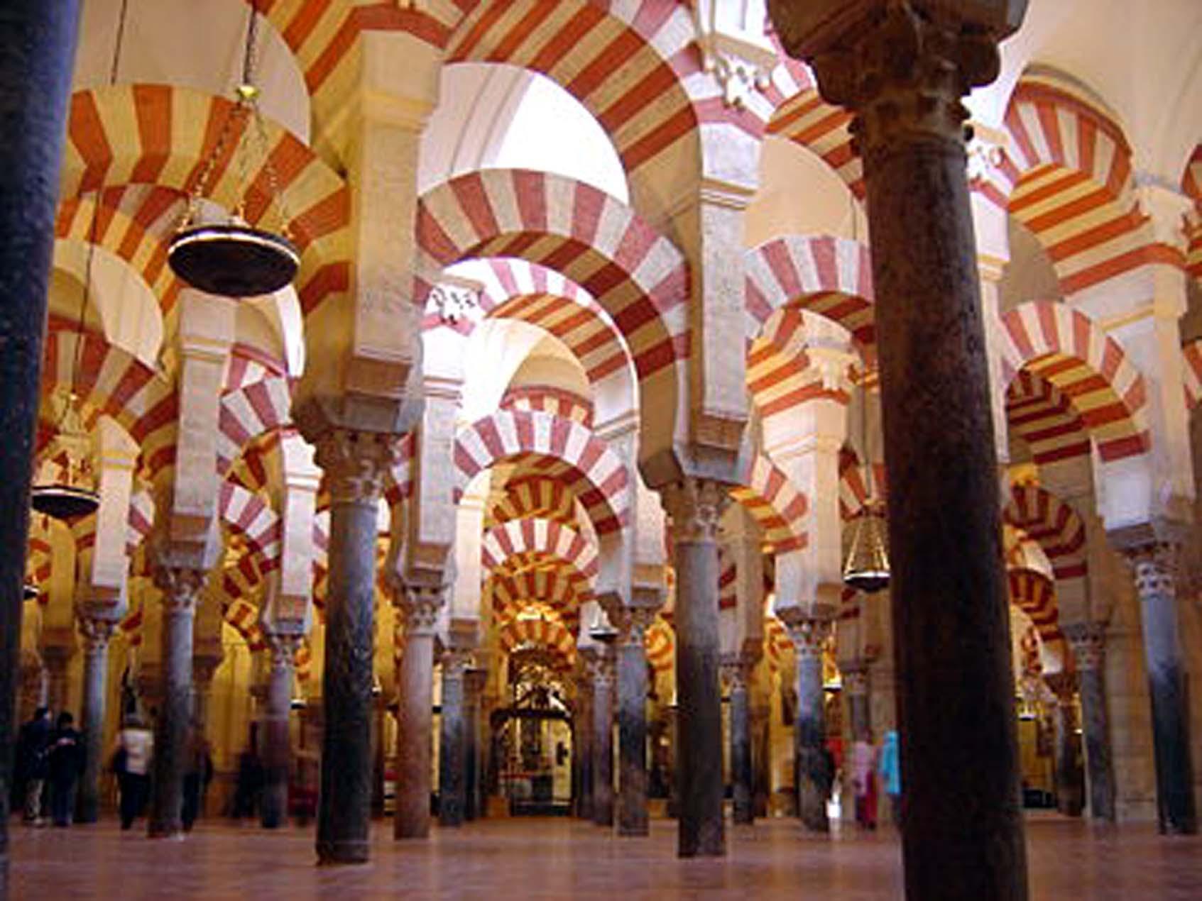 La cattedrale di Cordoba Mezquita (Moschea)