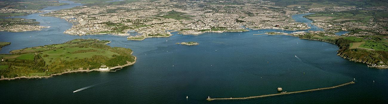 Plymouth-sound-panoramic
