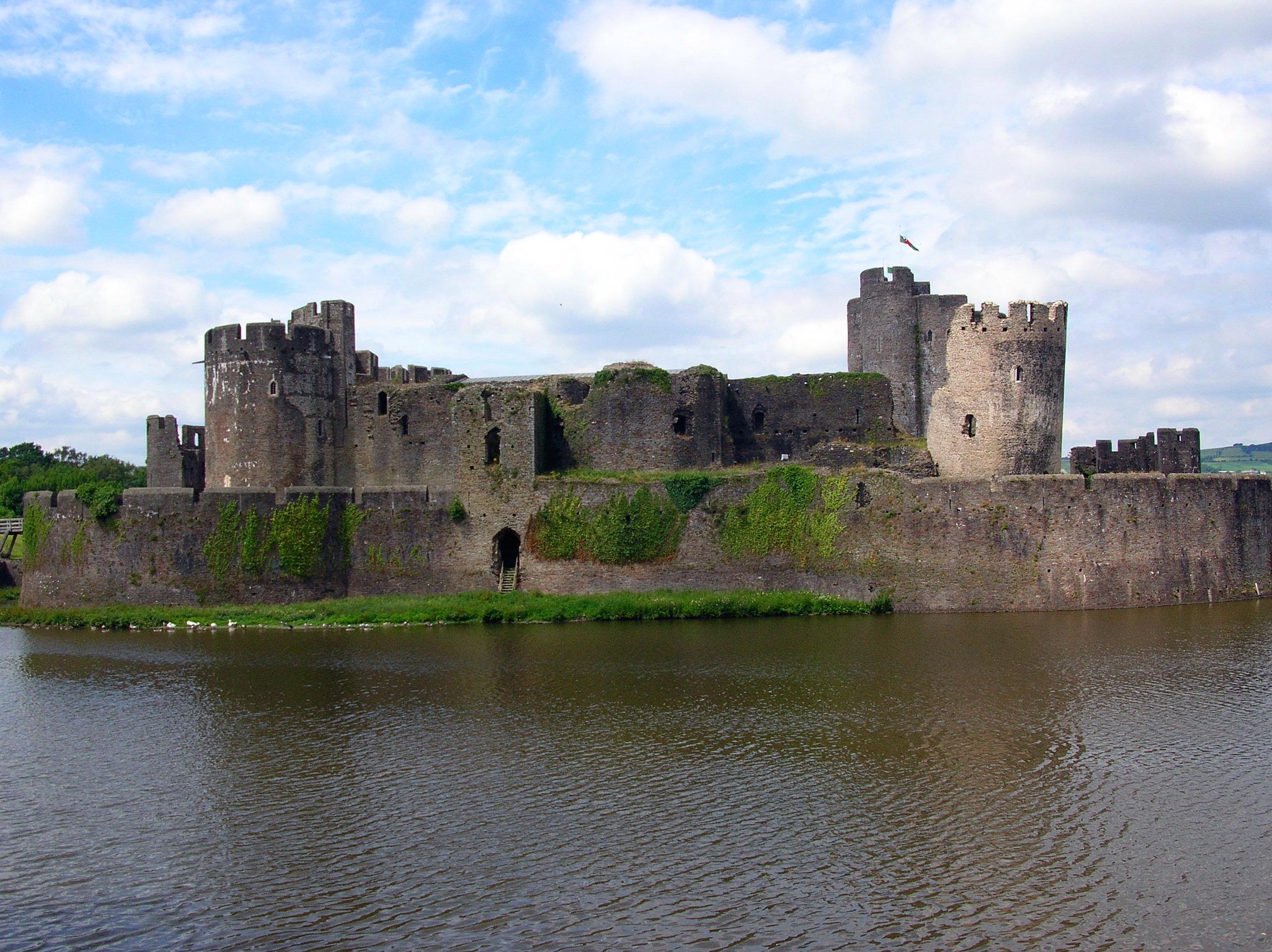 Il castello di Caerphilly (12)