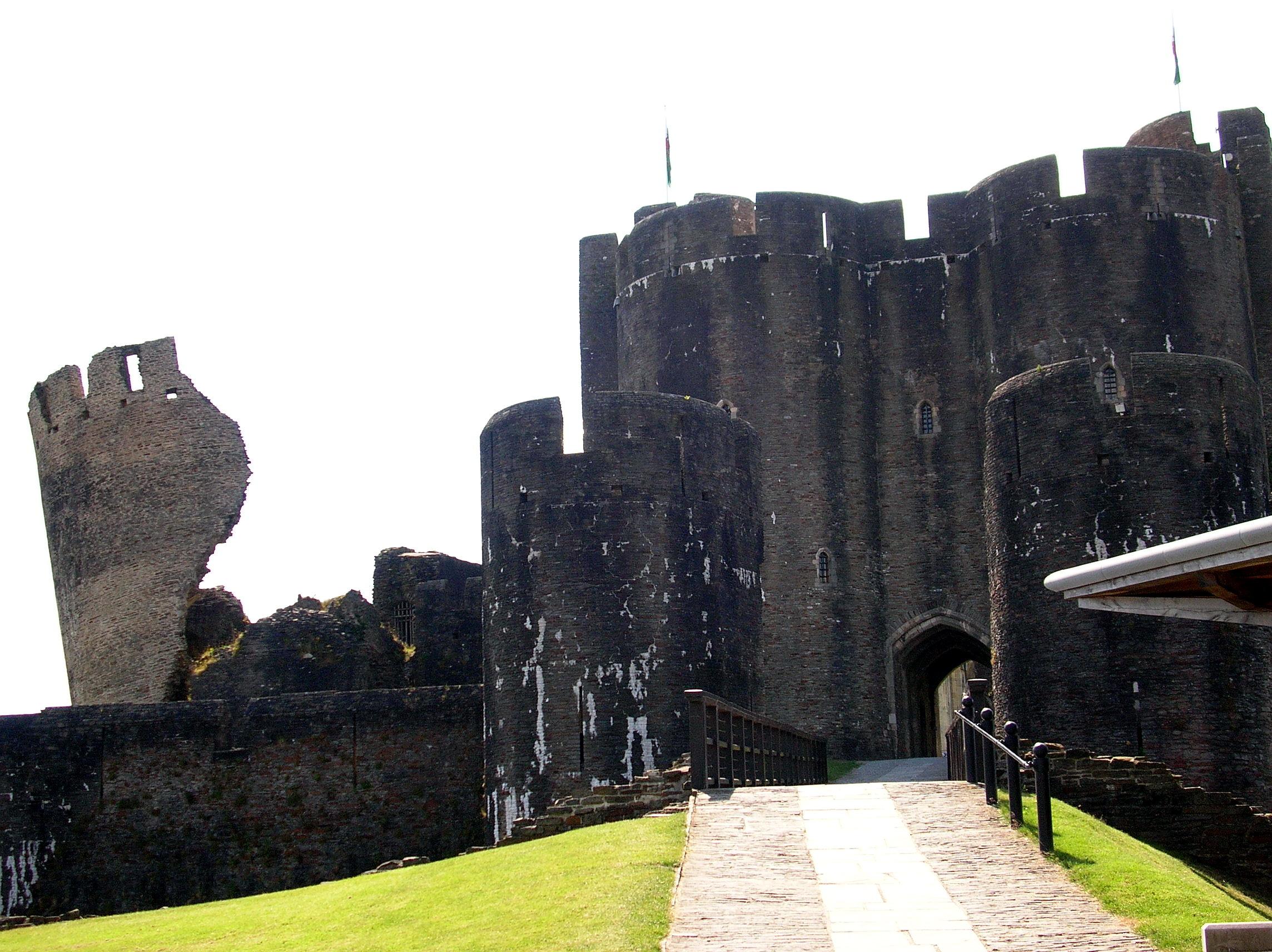 Il castello di Caerphilly (14)