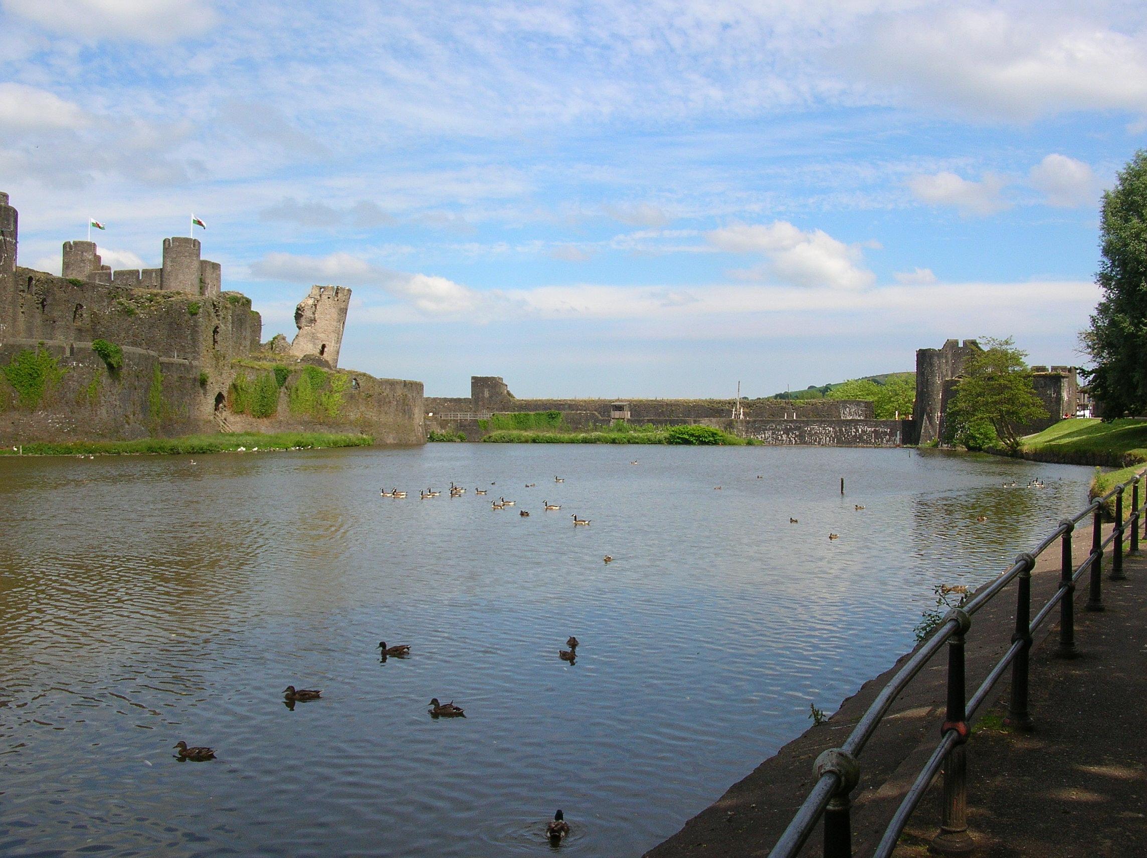 Il castello di Caerphilly (17)