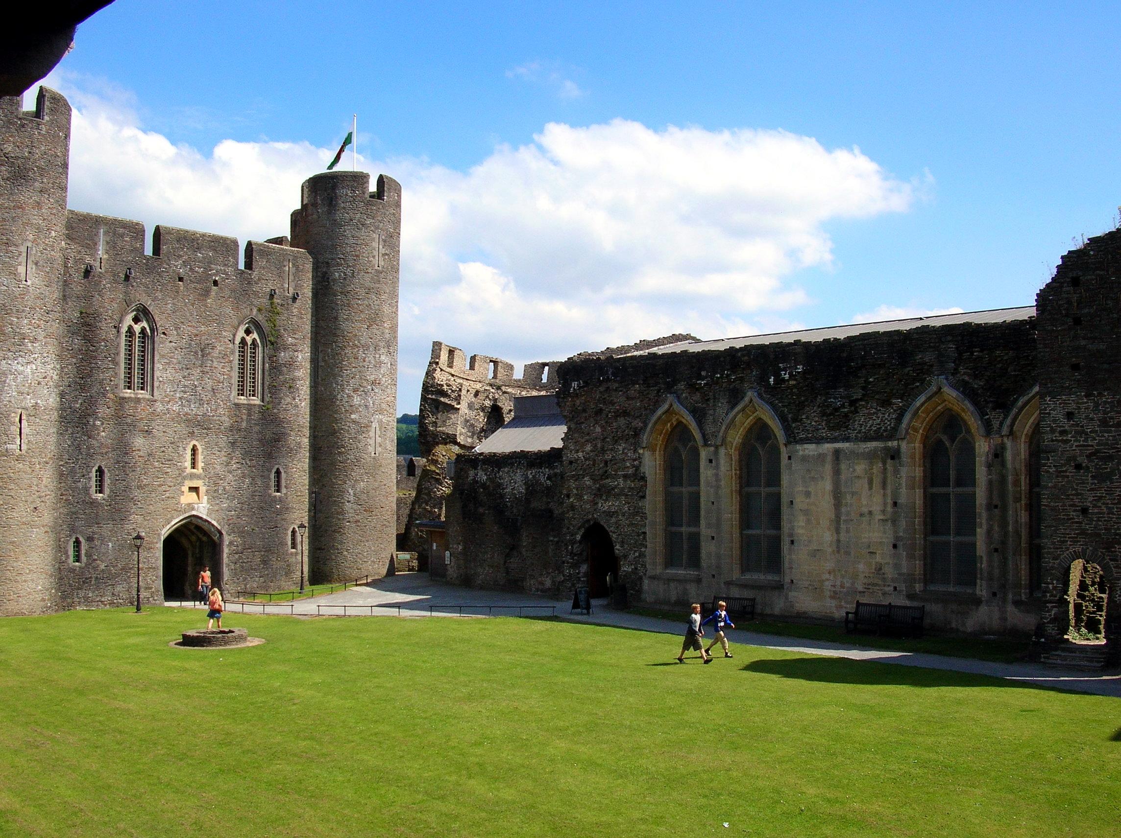 Il castello di Caerphilly (21)