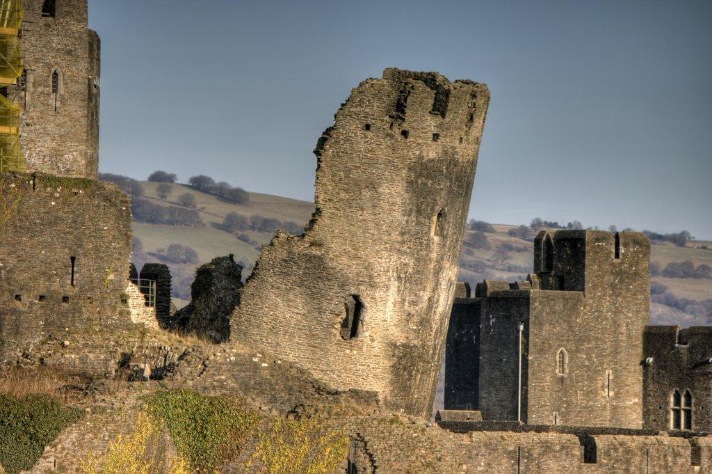 Il castello di Caerphilly (22)